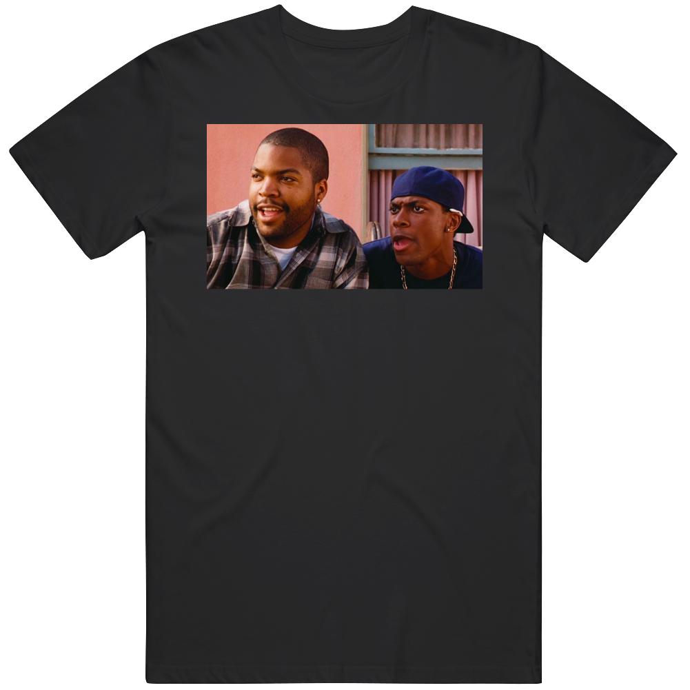 Retro Cult Classic Comedy Friday Ice Cube Movie Fan T Shirt