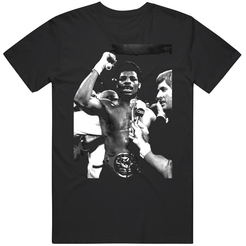 Legendary Boxer Leon Spinks Tribute Boxing Fan V2  T Shirt