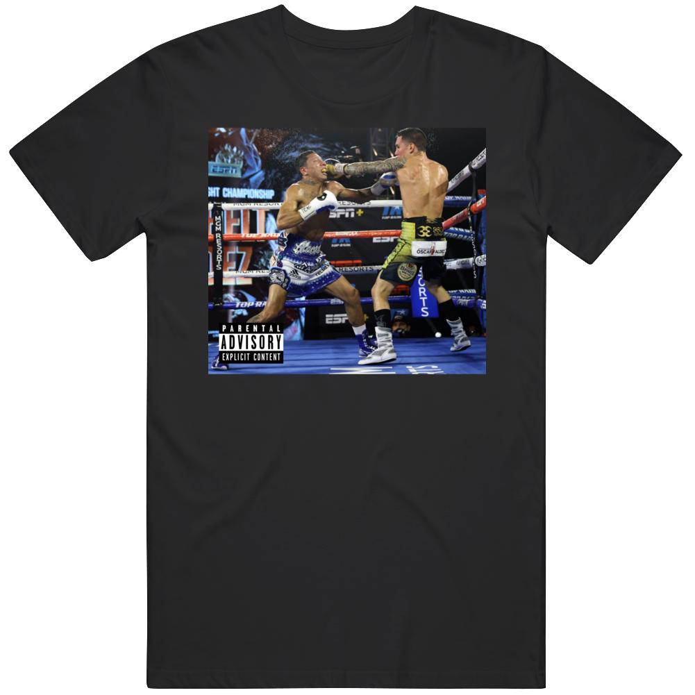 Oscar Valdez  KO  Miguel Berchelt Album Parody Boxing Fan v3 T Shirt