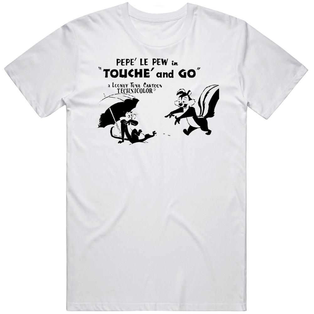 Retro Cartoon Pepe Le Pew Episode Fan  T Shirt