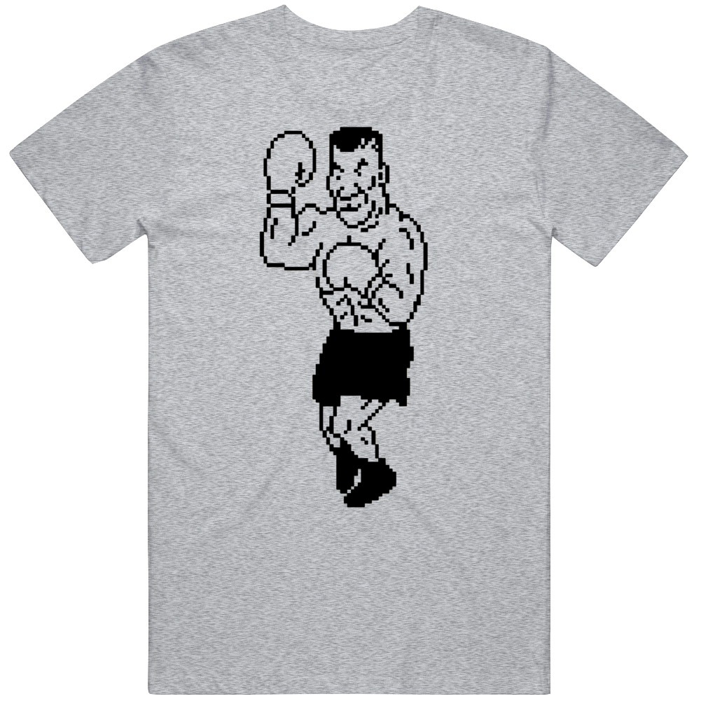 Cool Classic Video Game Mike Tyson's PunchOut NES Character v4 T Shirt