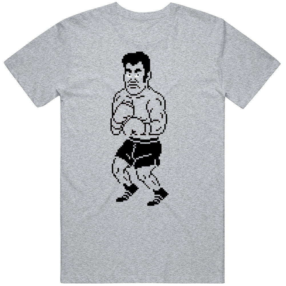 Cool Classic Video Game Mike Tyson's PunchOut NES Piston Honda Character v2 T Shirt