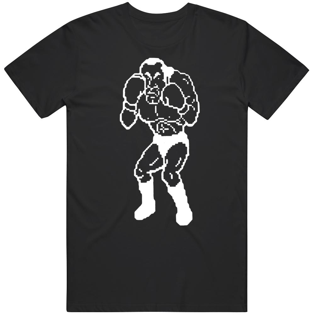 Cool Retro Nintendo Game Mike Tyson Punchout Super Macho Man v4 T Shirt