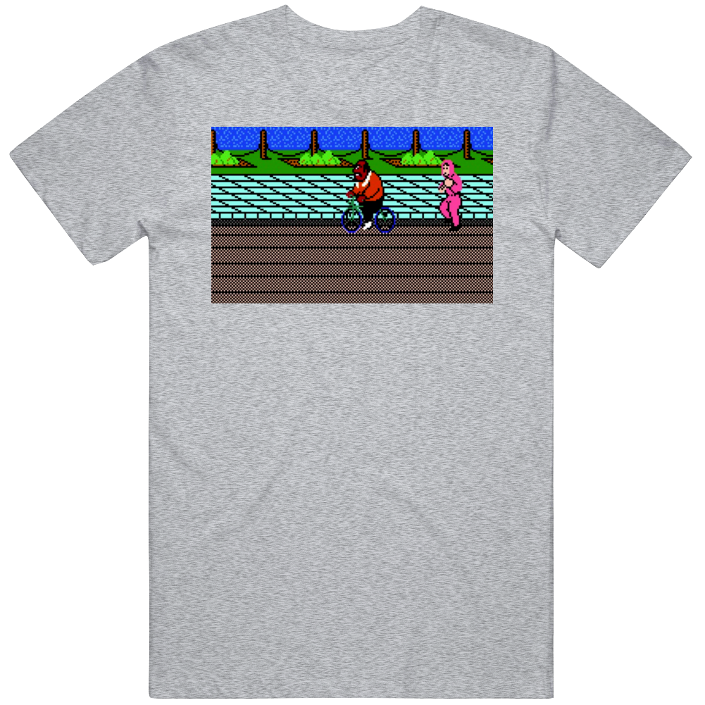 Cool Classic Video Game Mike Tyson's PunchOut NES Doc Louis Training  T Shirt