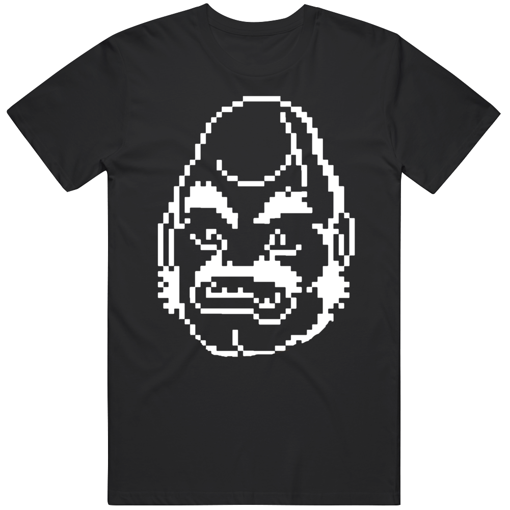 Cool Classic Video Game Mike Tyson's PunchOut NES Bald Bull Character v4 T Shirt