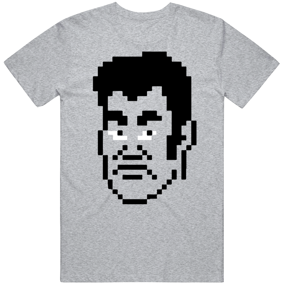 Cool Classic Video Game Mike Tyson's PunchOut NES Piston Honda Big Head Character v2 T Shirt
