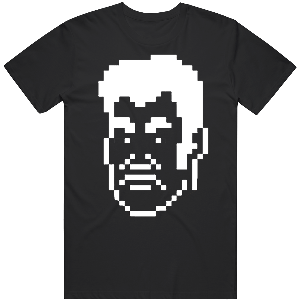 Cool Classic Video Game Mike Tyson's PunchOut NES Piston Honda Big Head Character v3 T Shirt