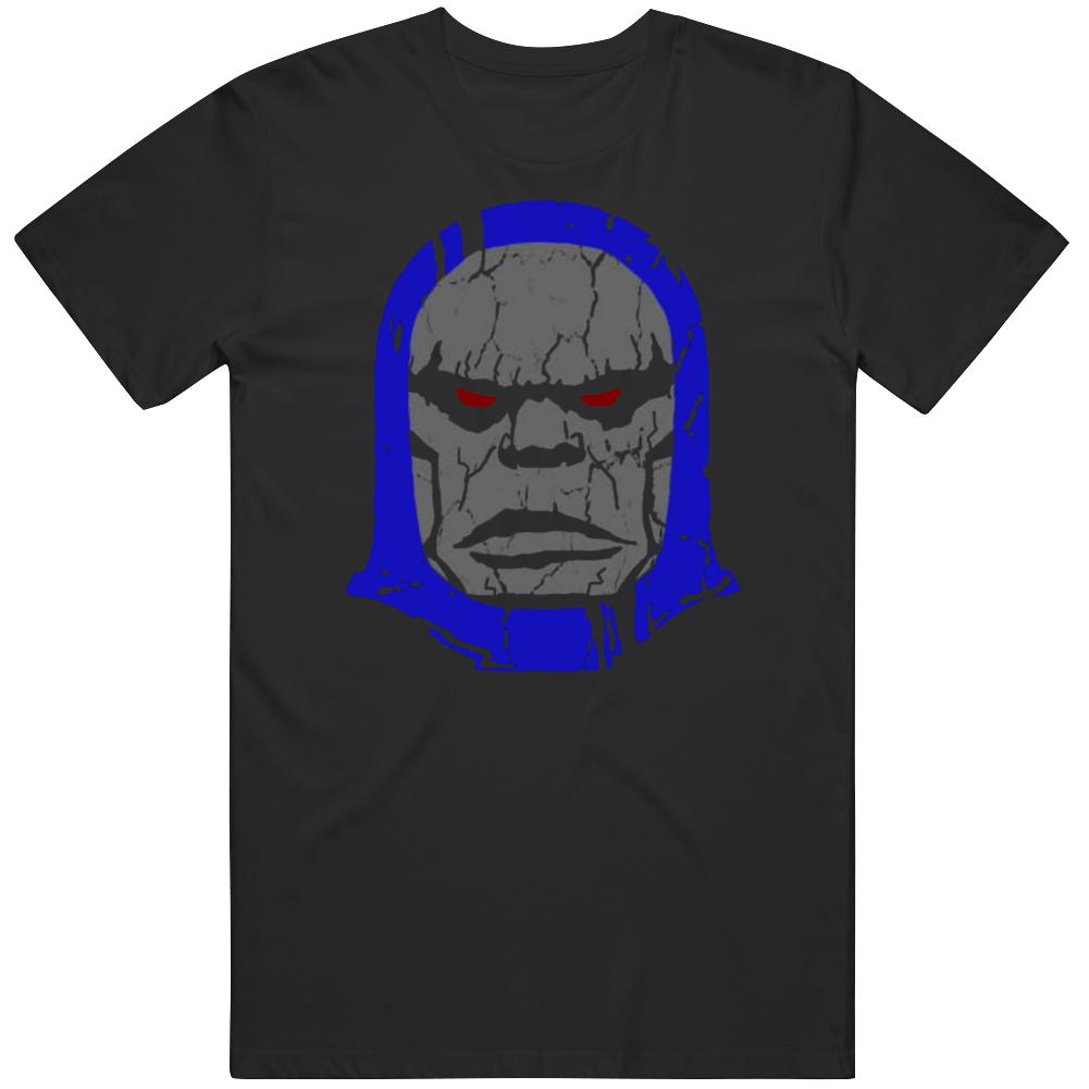 Darkseid Big Head Comic Villain Fan T Shirt
