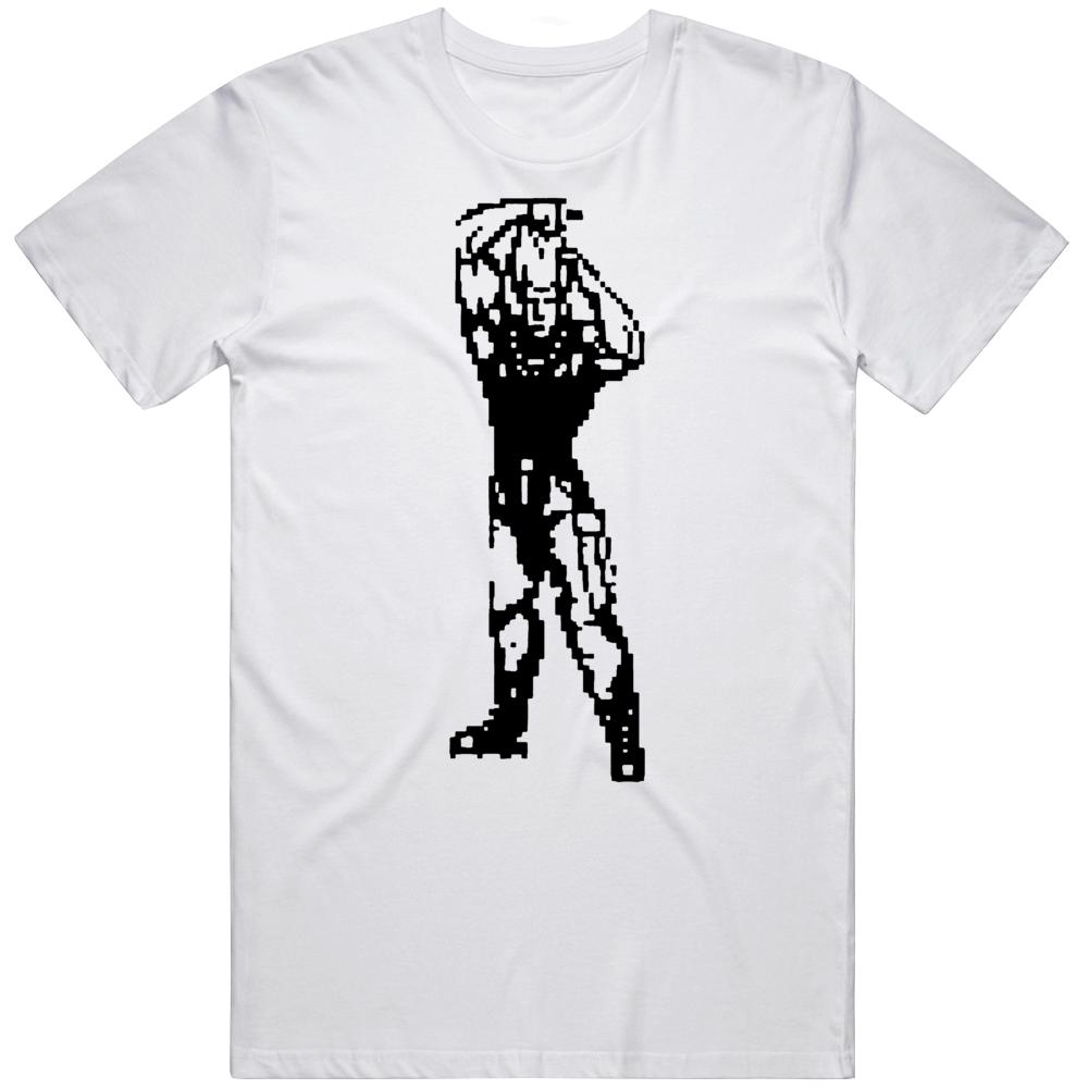 Guile Street Fighter II 8 Bit Retro Classic Video Game Fan v3 T Shirt