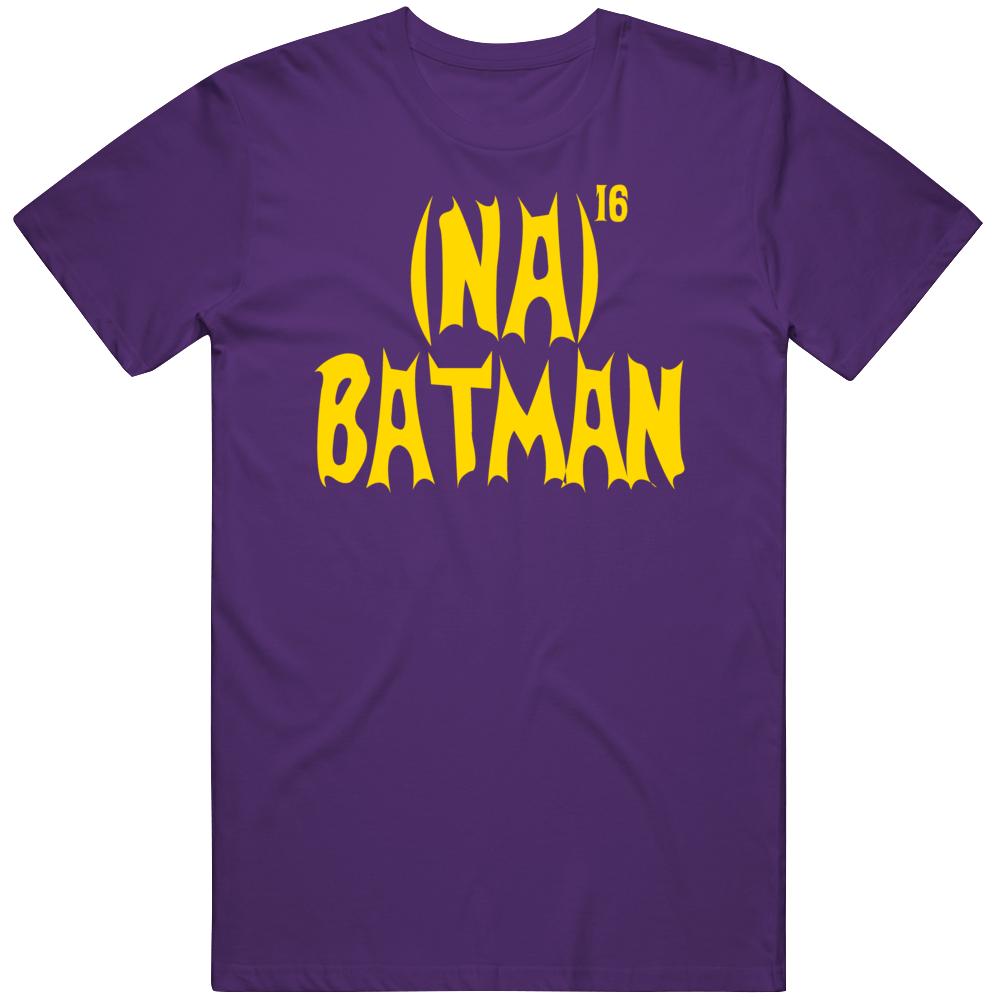 Funny Batman Retro Tv Show Adam West Na Na Batman Fan  T Shirt