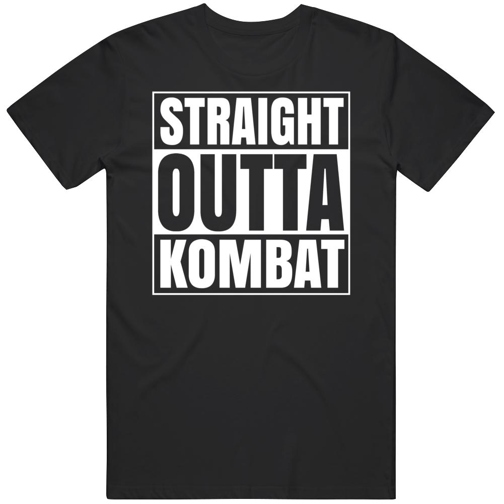 Straight Outta Kombat Mortal Kombat Fan  T Shirt