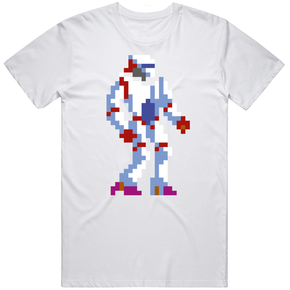 Thexder PC 1987 Game Arts Retro Video Game Fan  T Shirt