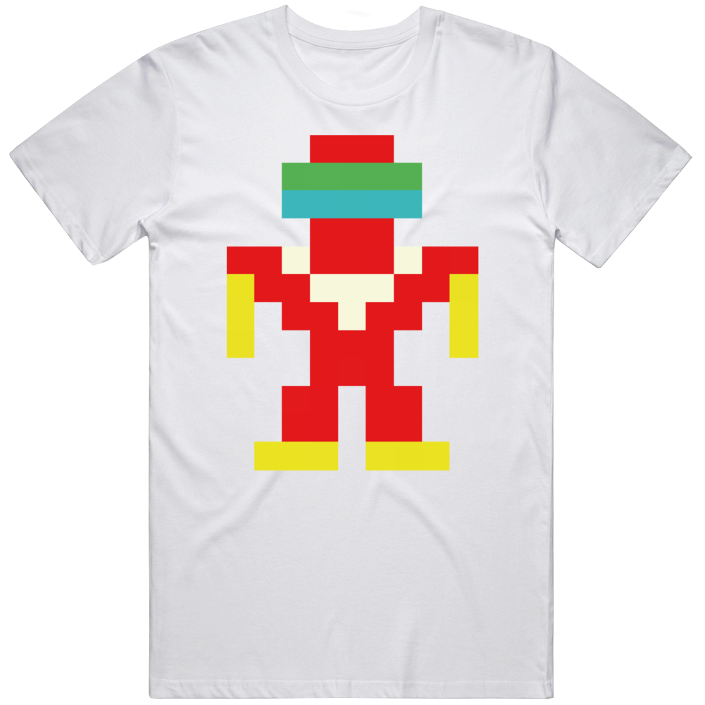 Robotron 2084  Retro Arcade Game Fan  T Shirt