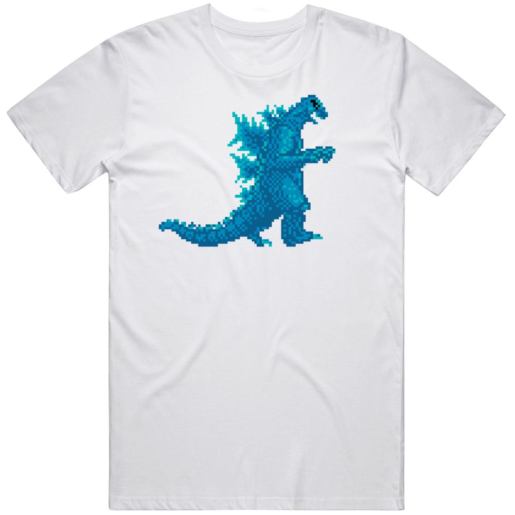 Godzilla  Monster Of Monsters Retro NES 1988 Toho Cinefi le Video Game Fan  T Shirt