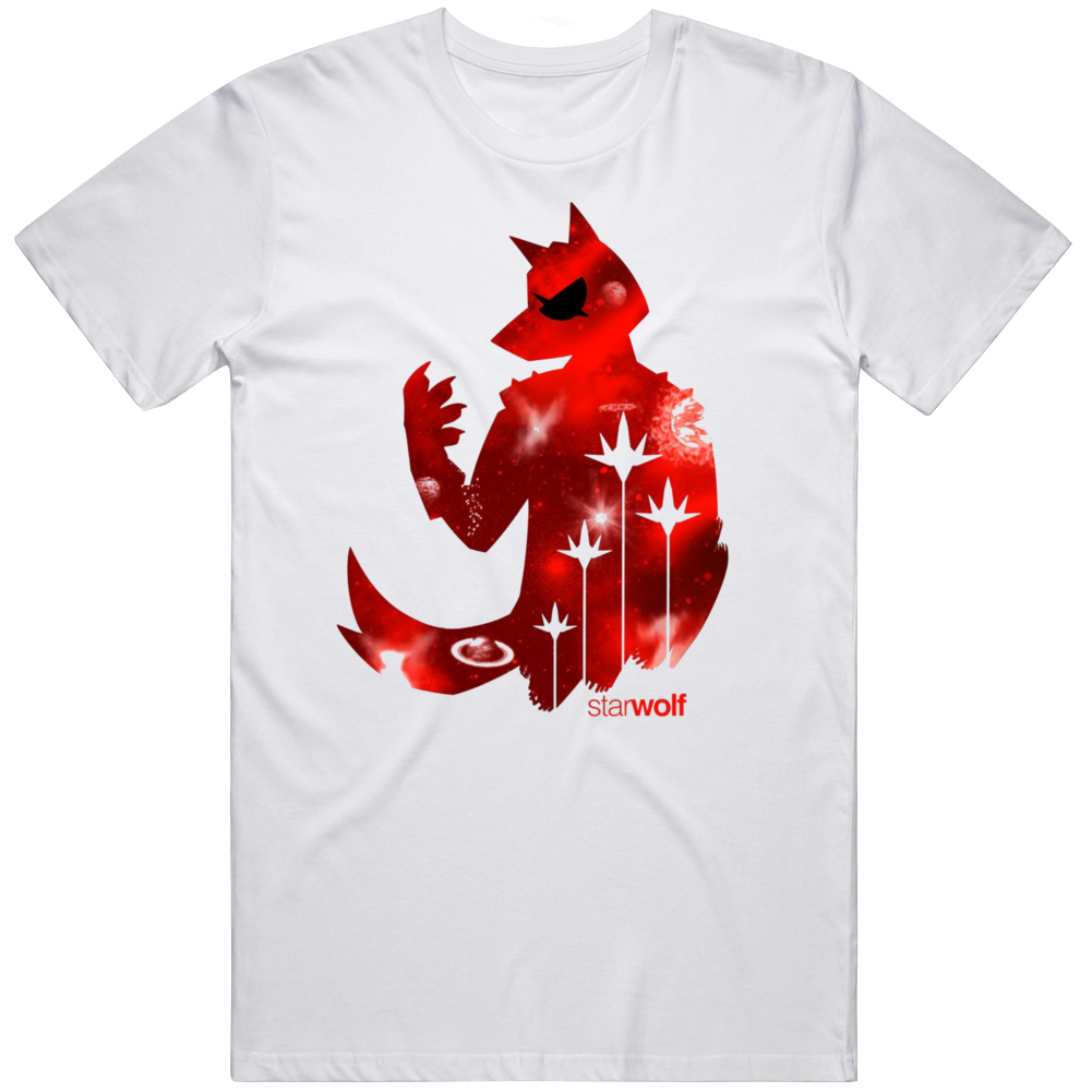 Star Fox 2 Star Wolf Character Wolfen Wolf O'Donnell Video Game v2 T Shirt