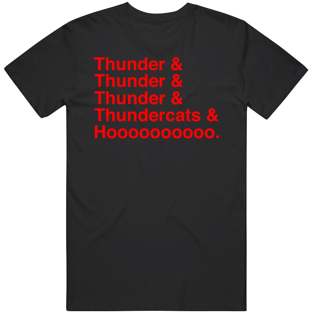 Retro Classic Thundercats Thunder Hoooooo Cartoon Fan T Shirt