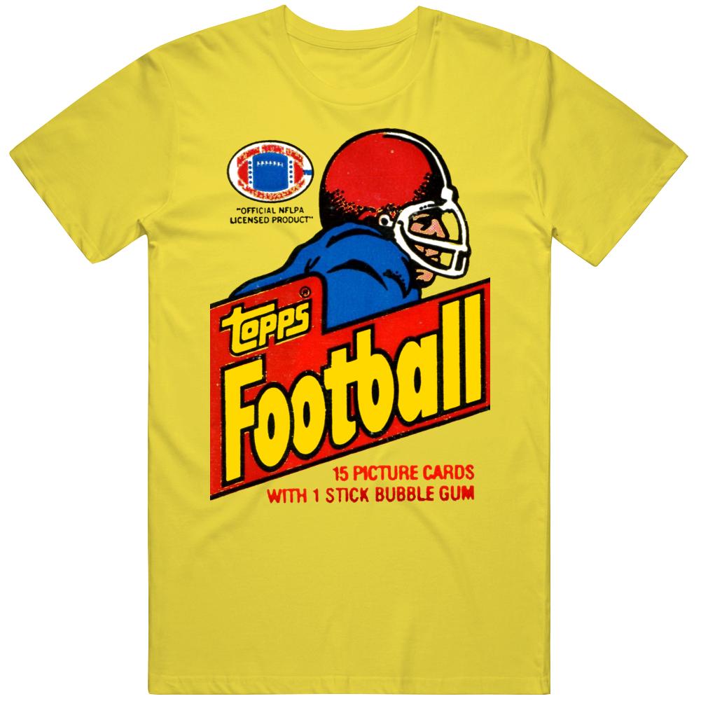 Retro 1981 Football Wax Pack T Shirt