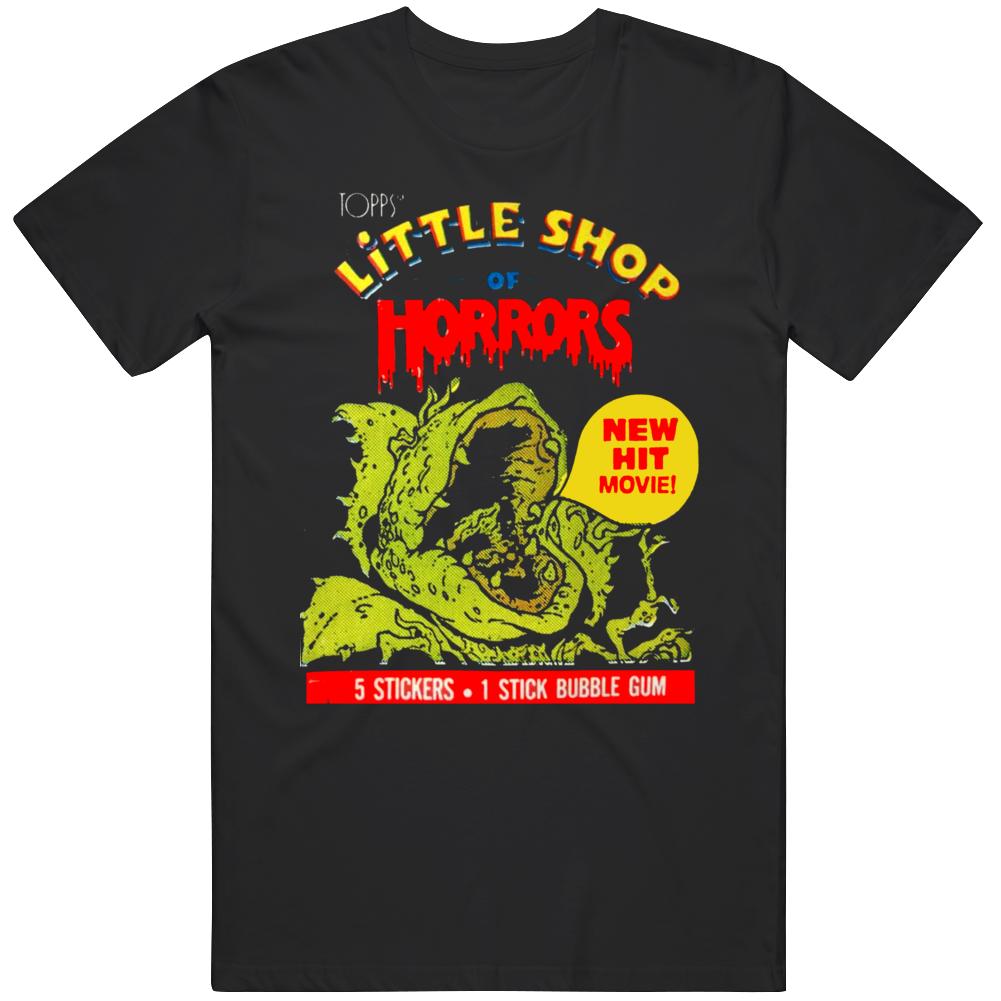 Retro Little Shop of Horrors Movie Wax Pack Fan T Shirt