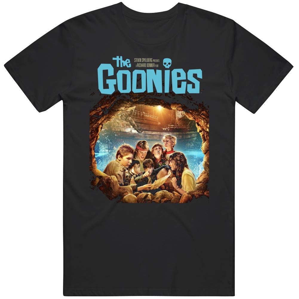 Cool Retro Movie The Goonies Movie T Shirt