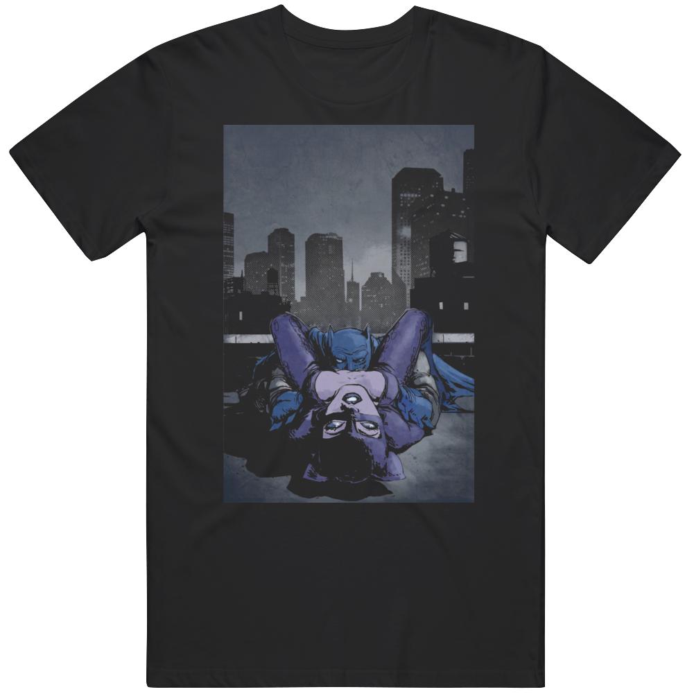 Batman Goes Down Always Fan Funny v3 T Shirt
