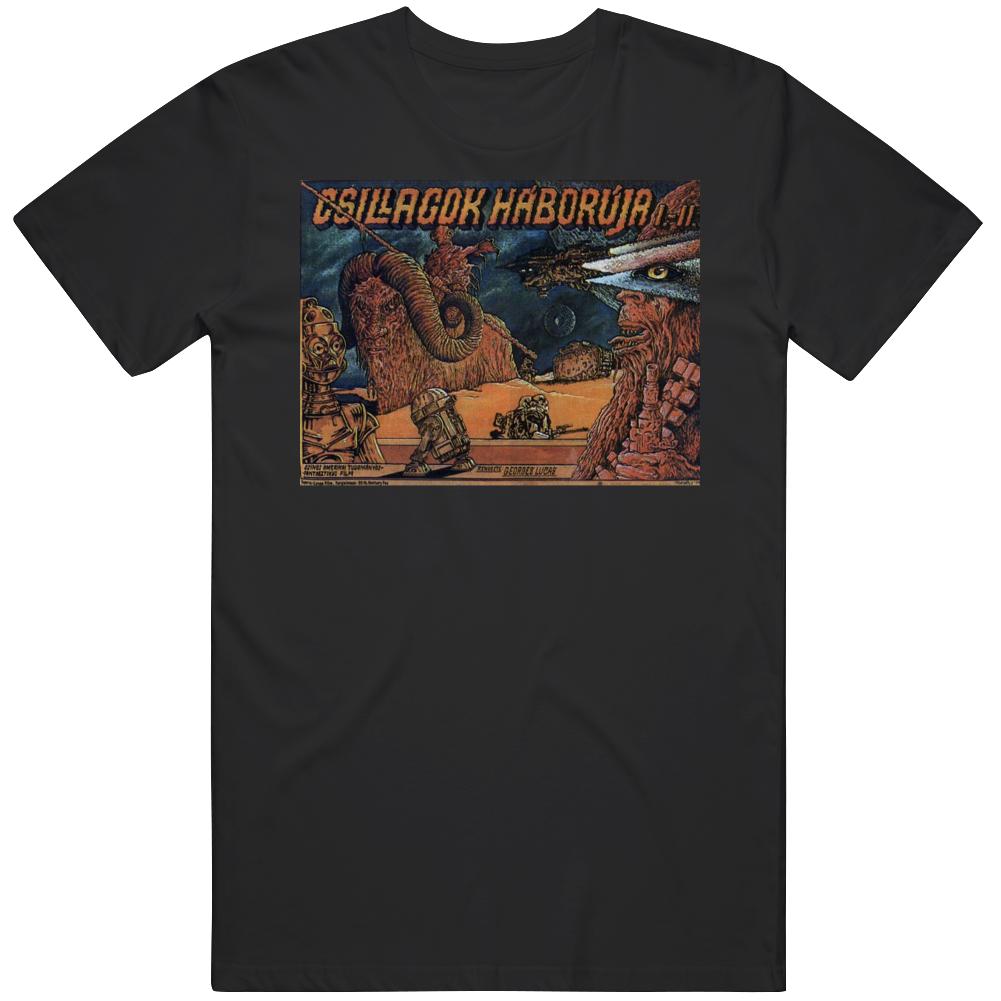 Star Wars A New Hope Hungarian Movie  Fan T Shirt