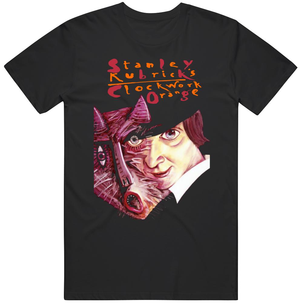 Clockwork Orange Retro Classic Polish Movie  Fan T Shirt