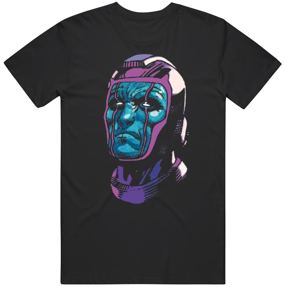 Kang The Conqueror Big Face Loki Fan  T Shirt