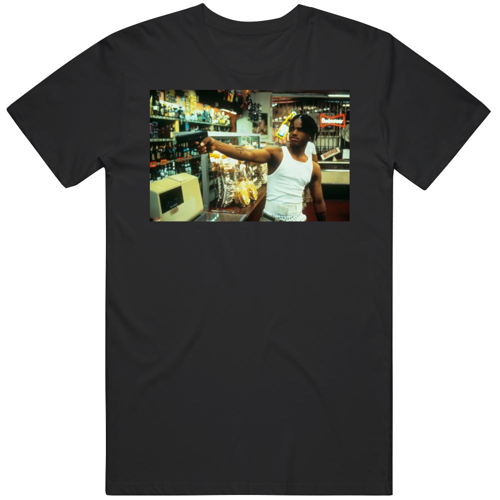 O Dog Menace to Society Cult Classic Movie Liquor Store Scene  T Shirt