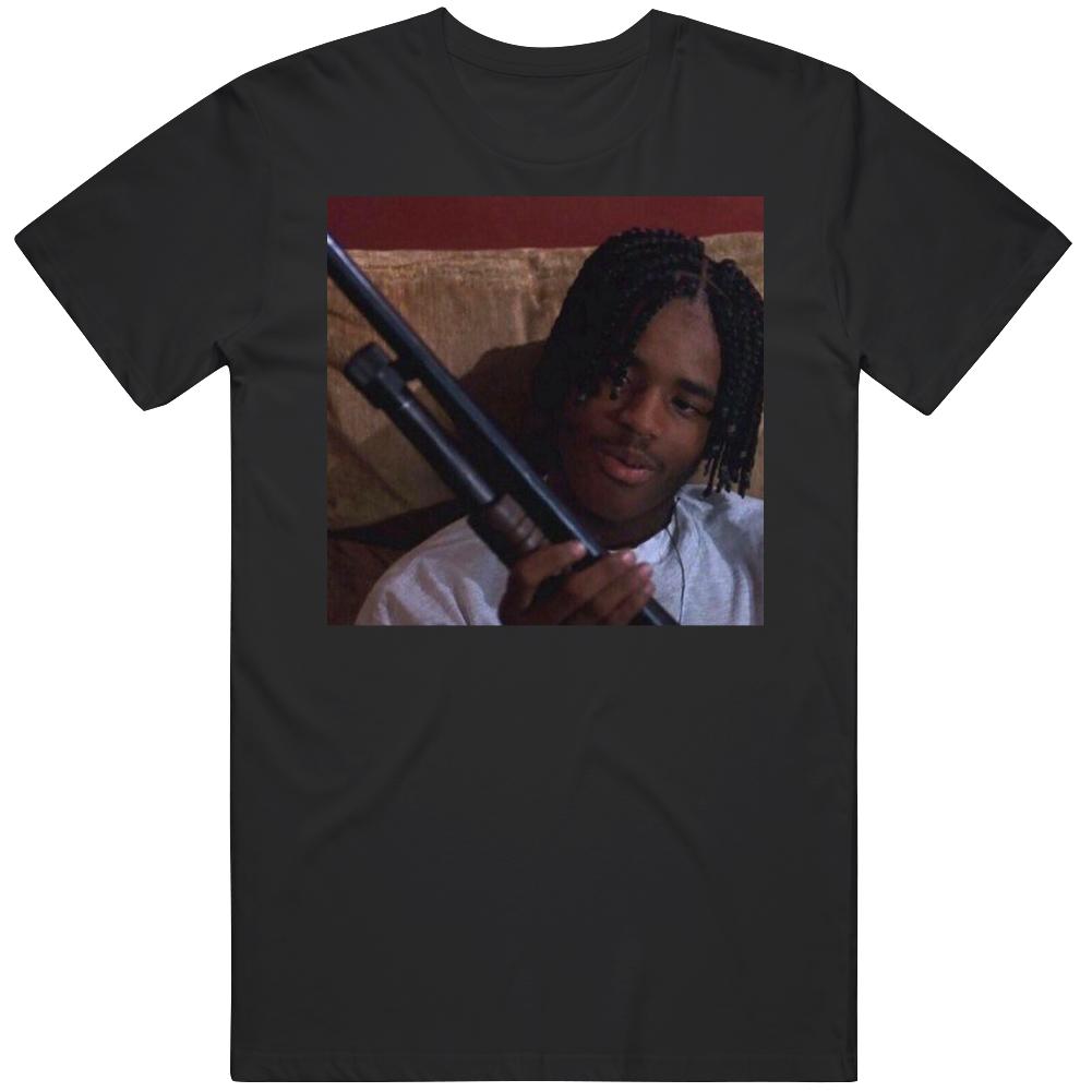 O Dog Menace to Society Cult Classic Movie Shotgun Scene v4 T Shirt