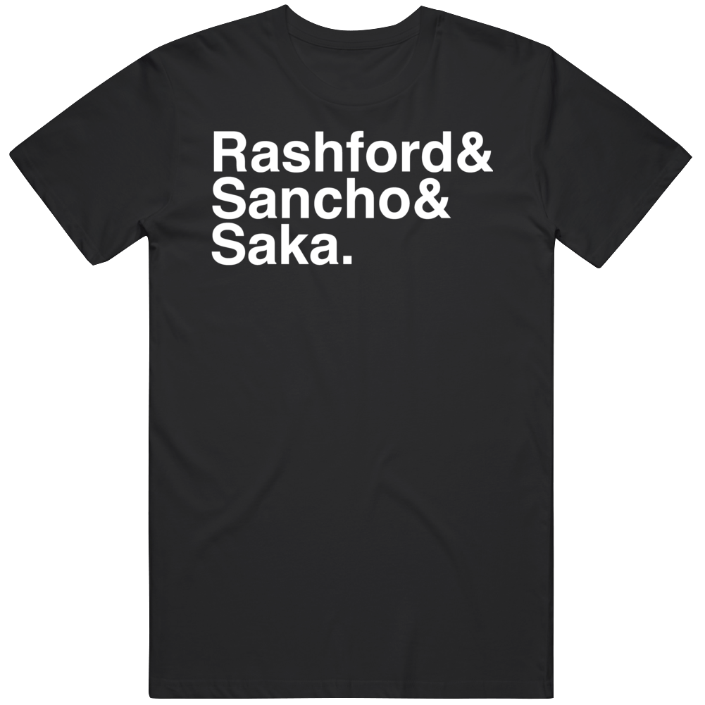 3 Kings Rashford Sancho Saka England Soccer Fan  T Shirt