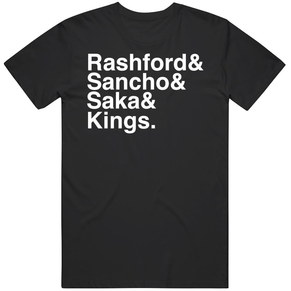 3 Kings Marcus Sancho Saka England Soccer Fan v2 T Shirt