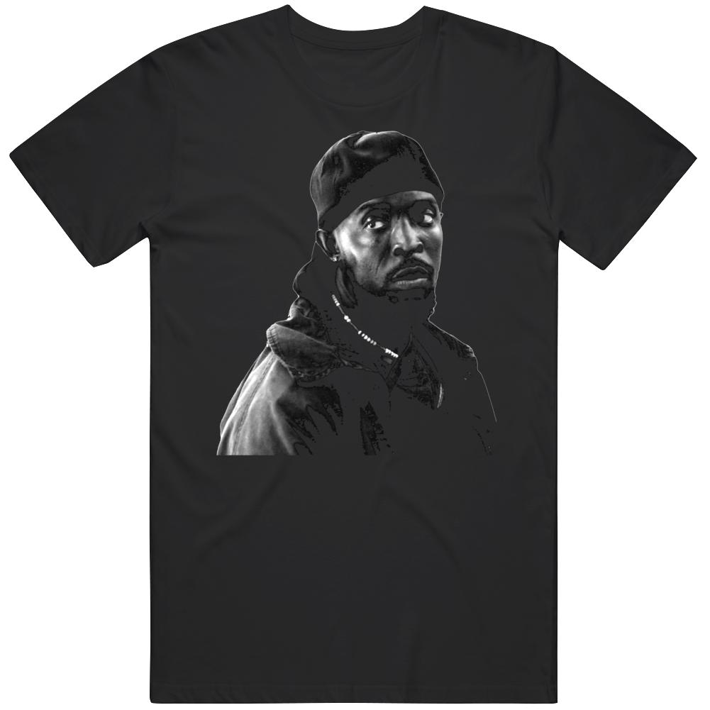 Omar Little The Wire Tv Series Fan V2  T Shirt