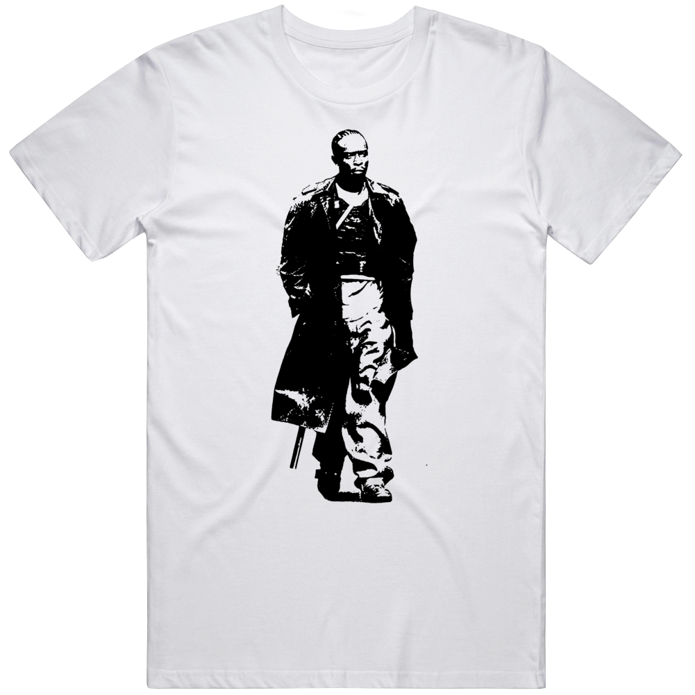 Omar Little Omar is Coming The Wire Tv Series Fan v2 T Shirt