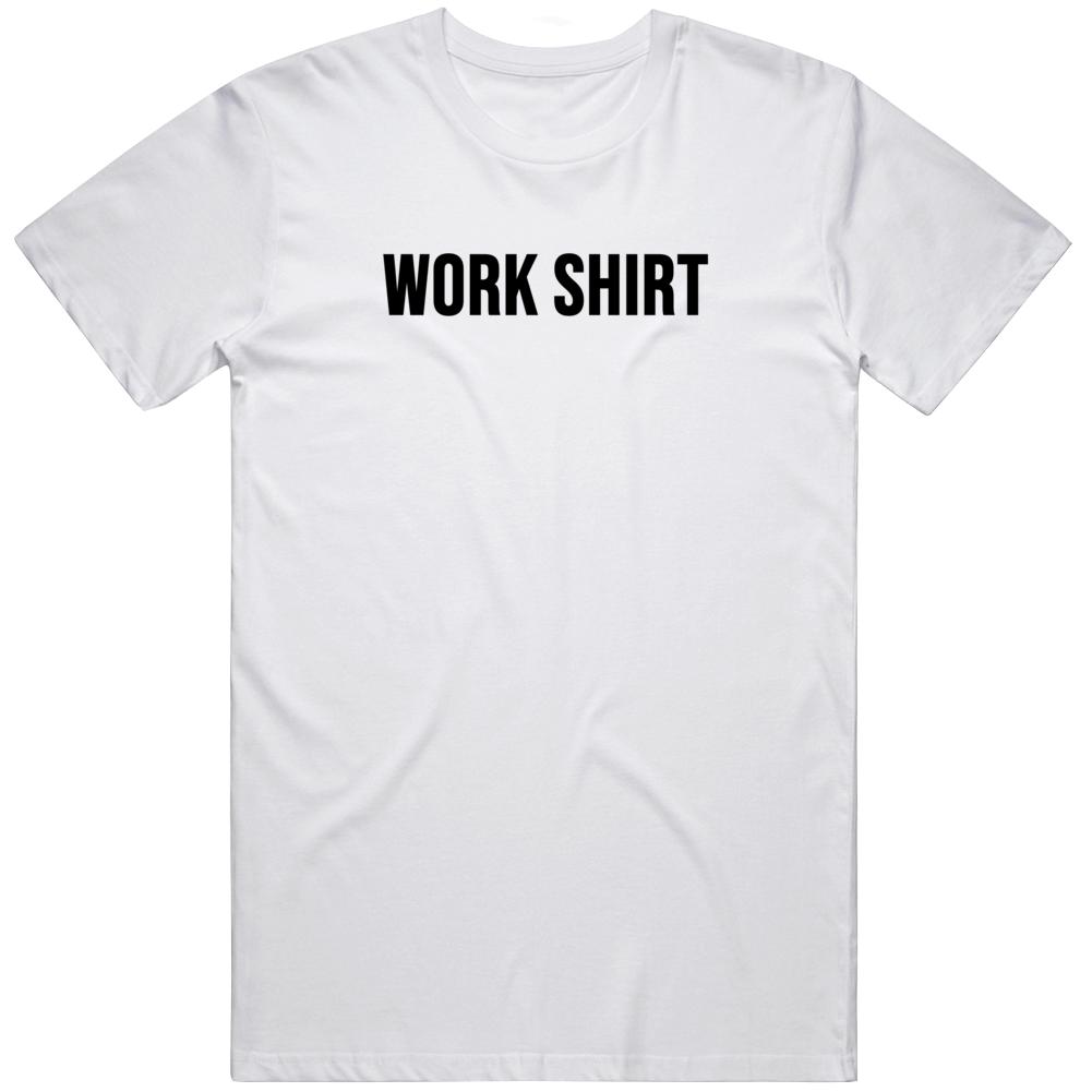 Work Shirt Peacemaker Tv Show Comic Book Fan   T Shirt