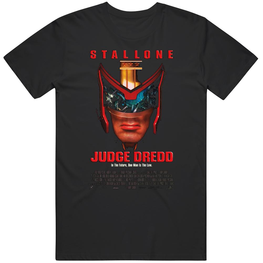 Judge Dredd Movie  Fan T Shirt