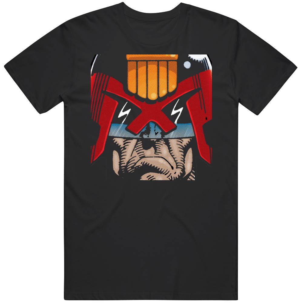 Judge Dredd Comic Fan   T Shirt