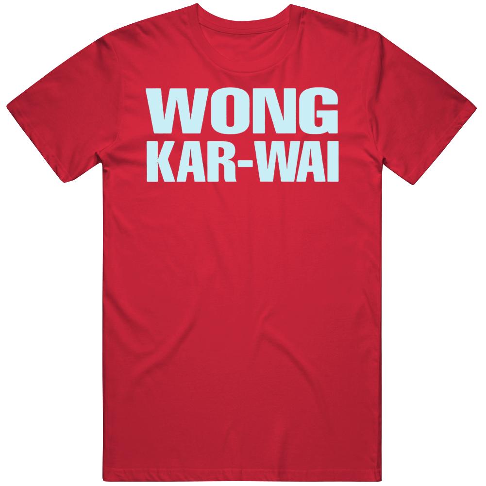 Directed by Wong Kar Wai Movie Fan T Shirt