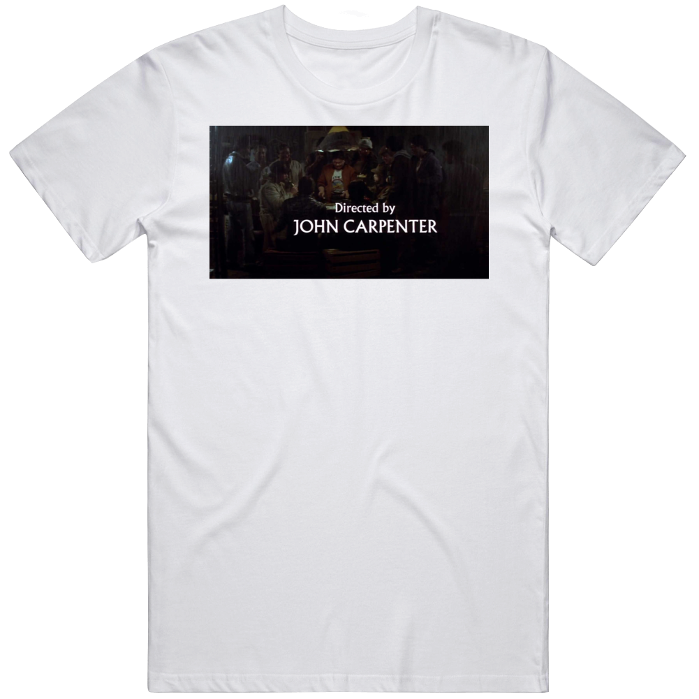 Directed By John Carpenter Big Trouble in Little China Movie Fan T Shirt