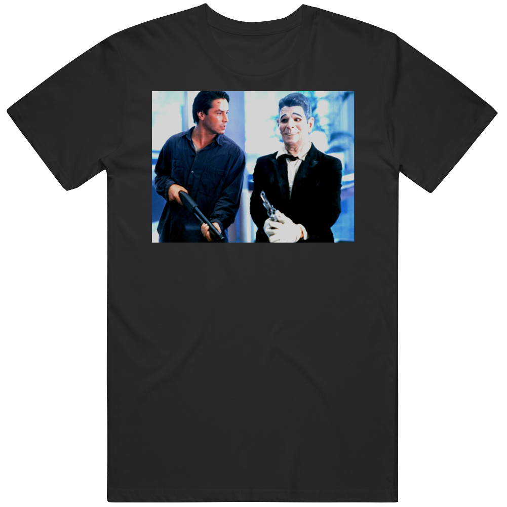 Cult Classic Movie Bank Robbery Scene Bodhi and Utah Fan  T Shirt