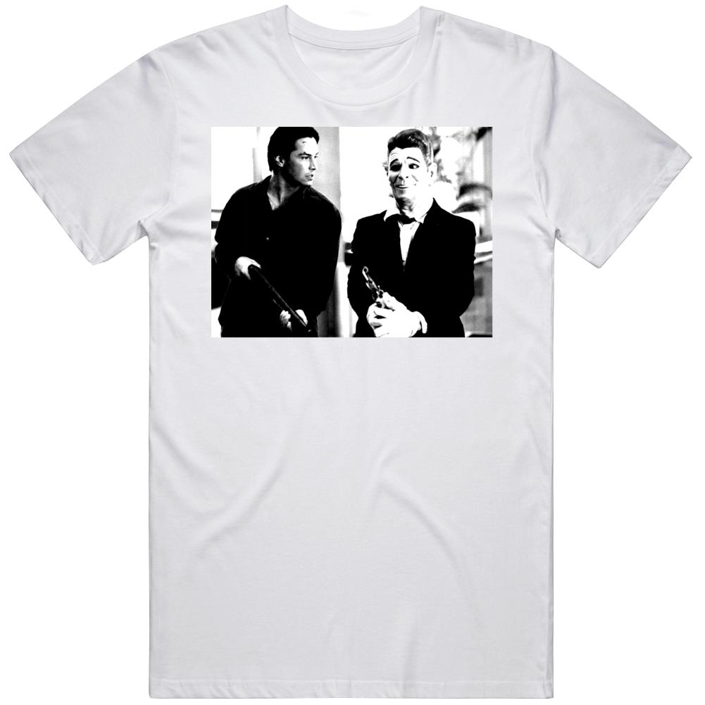 Cult Classic Movie Bank Robbery Scene Bodhi and Utah Fan v2 T Shirt