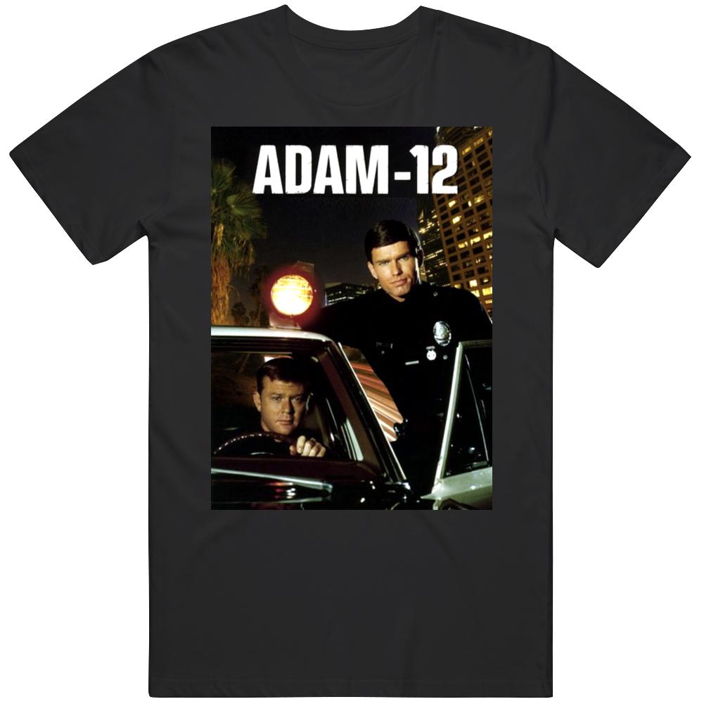 Adam 12 TV Show 70's Retro T Shirt