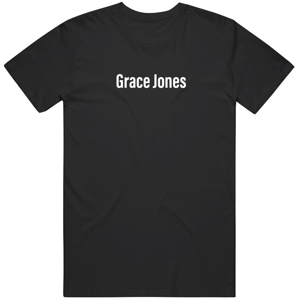 Grace Jones Fan T Shirt
