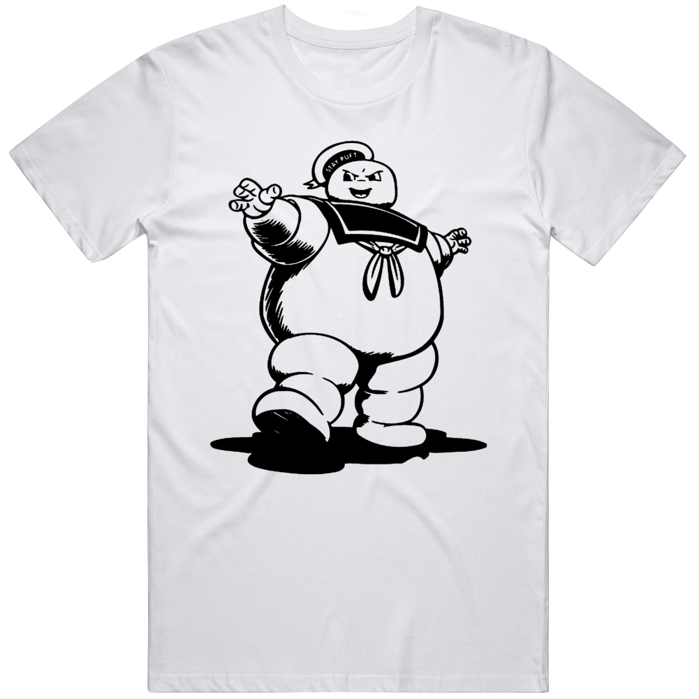 Stay Puft Marshmallow Man Ghostbusters Cool Halloween T Shirt