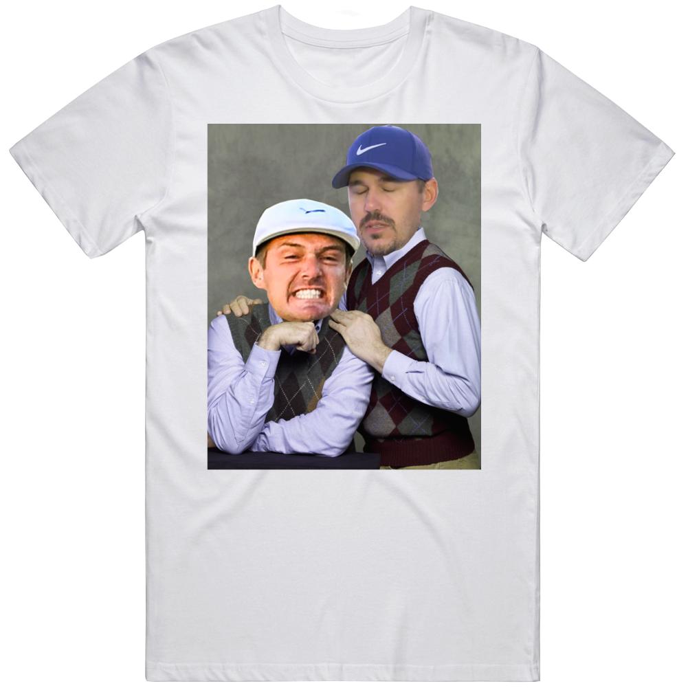 Bryson DeChambeau Brooks Koepka Ryder Cup Step Brothers Parody Funny Golf Fan T Shirt