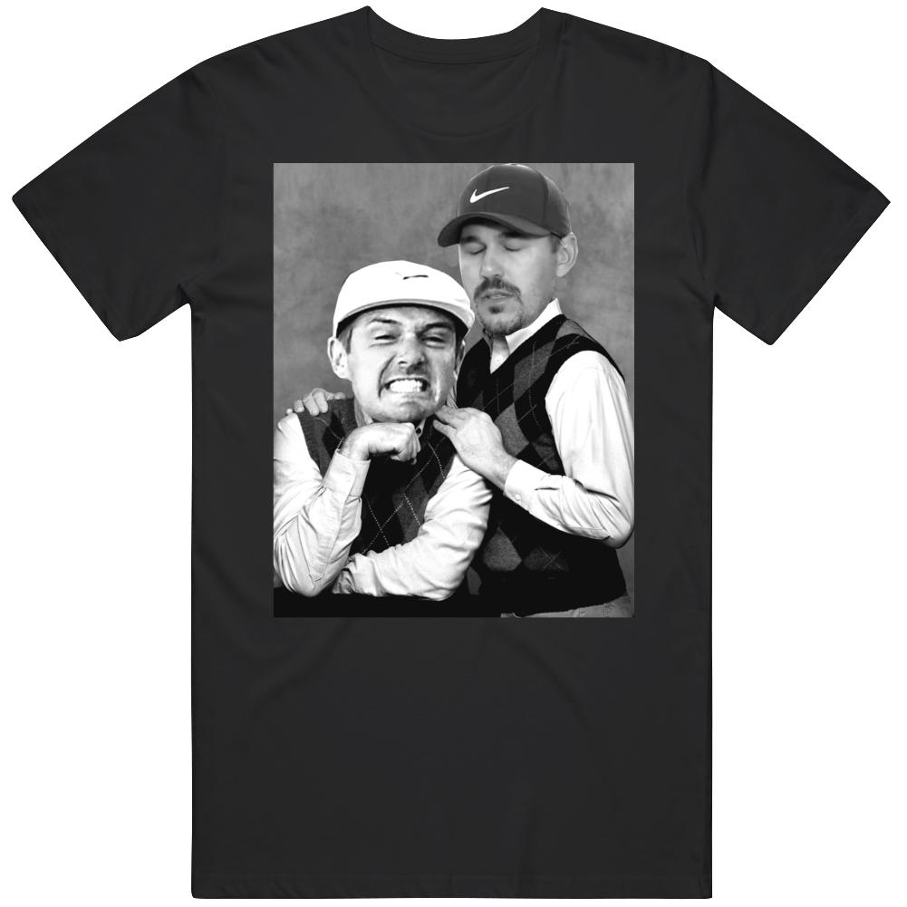 Bryson DeChambeau Brooks Koepka Ryder Cup Step Brothers Parody Funny Golf Fan v2 T Shirt