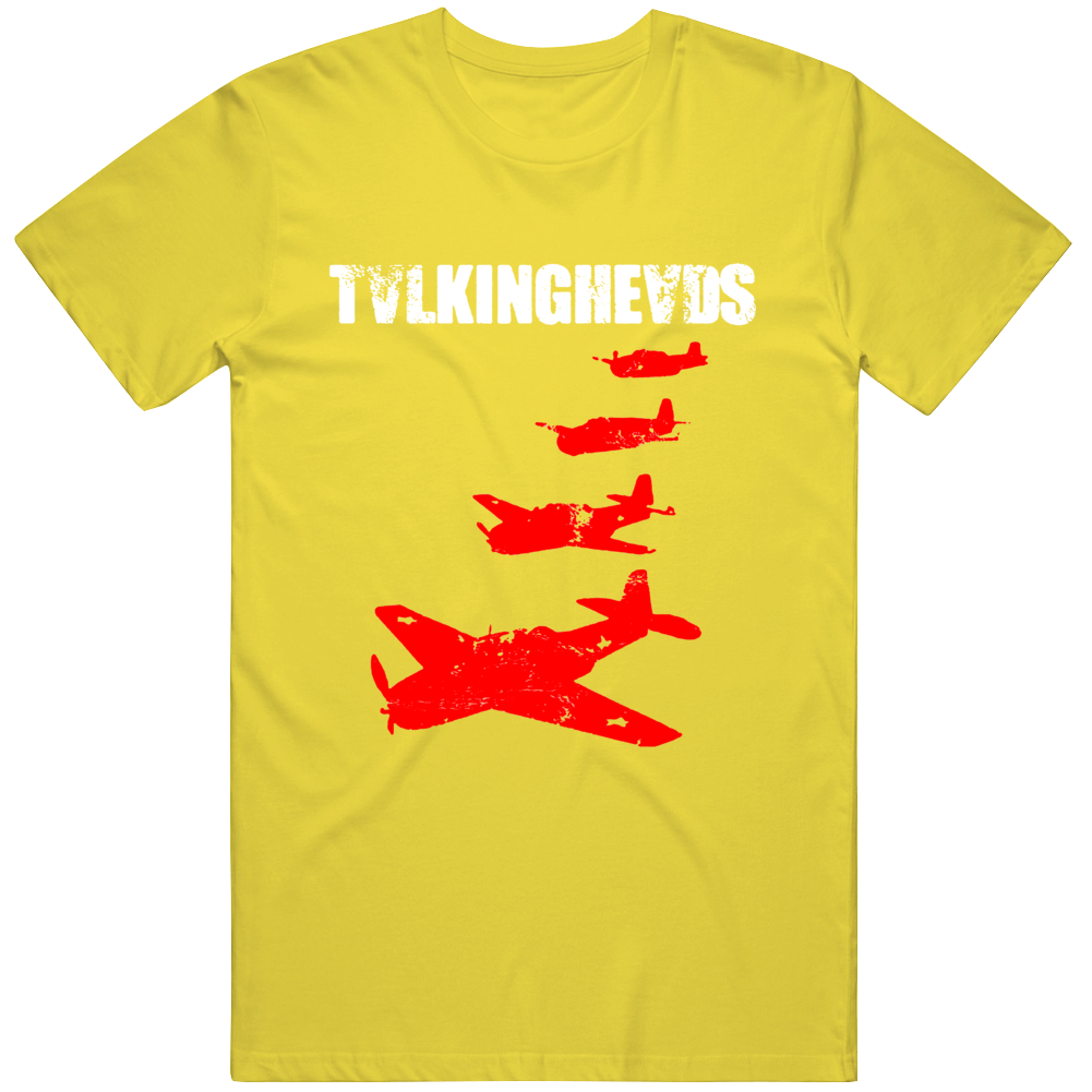 Talking Heads David Byrne True Stories Retro Vintage Radieohead Rock Remain Light v2 T Shirt