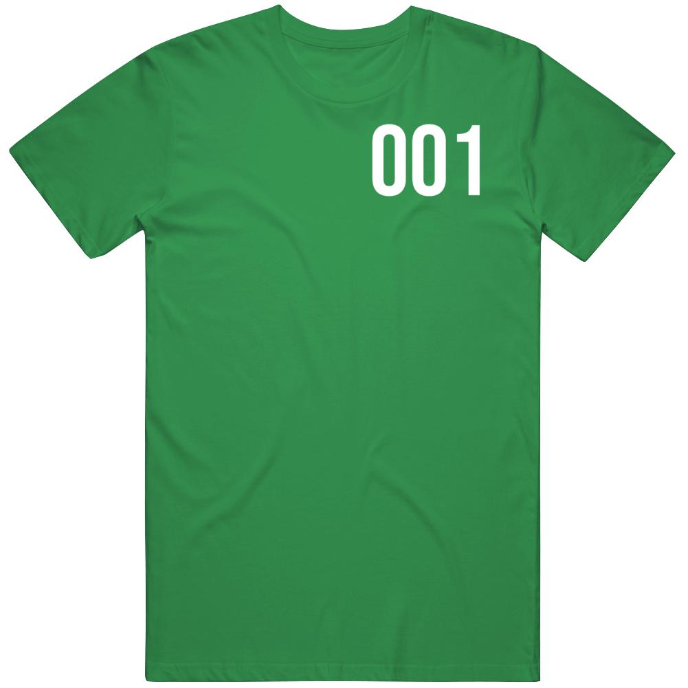 Squid Game Player 001 Series Fan v2 T Shirt