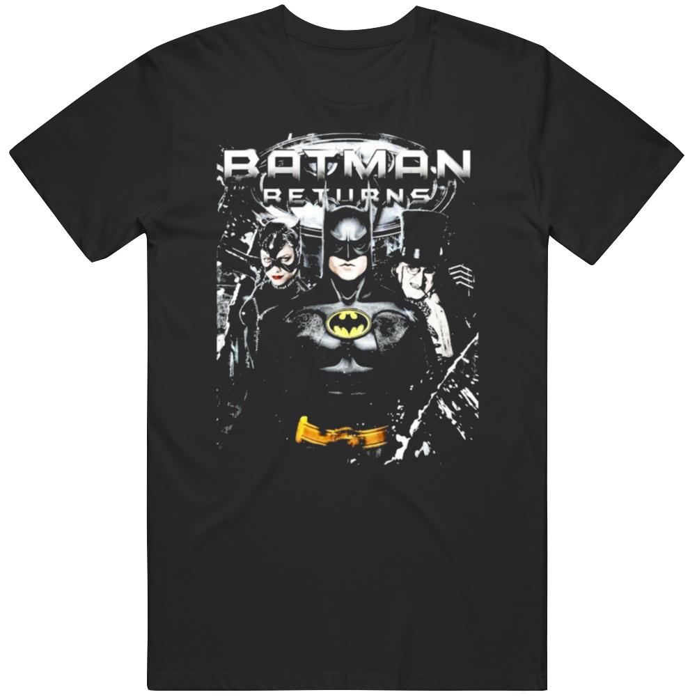 Retro Batman Returns Movie  Fan T Shirt