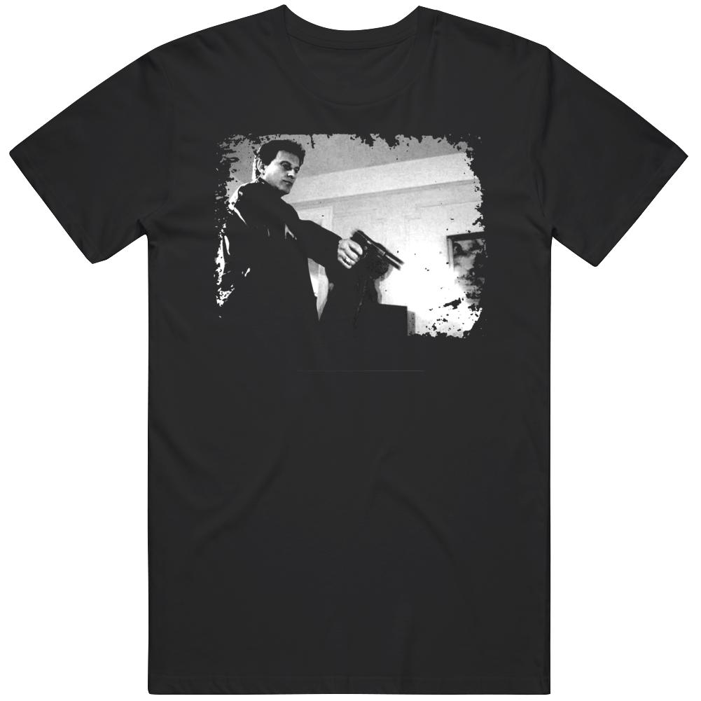 Goodfellas Joe Pesci Stacks Scene Gangster Movie Classic Fan  T Shirt
