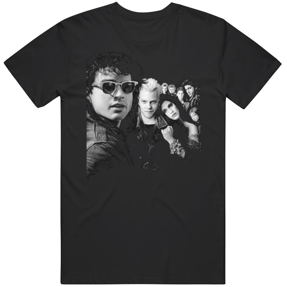 Cult Classic Movie The Lost Boys Retro  Fan T Shirt